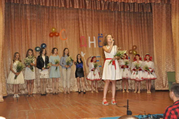 Праздничный концерт в день семьи, любви и верности в с. Верхняя Тишанка