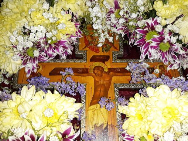 Происхождение (изнесение) Честных Древ Животворящего Креста Господня (Медовый Спас)