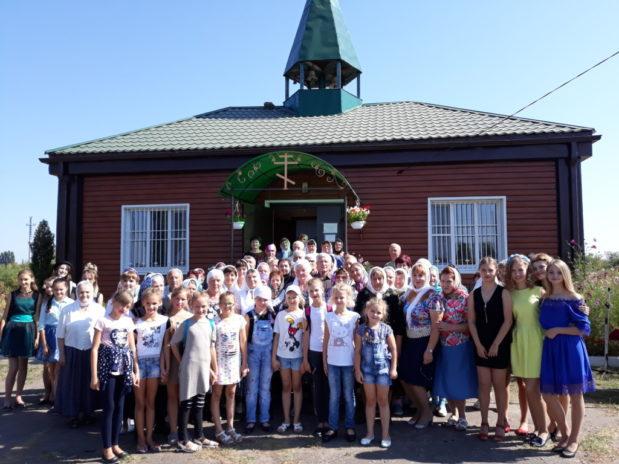 Престольный праздник в храме Александра Невского села Александровка