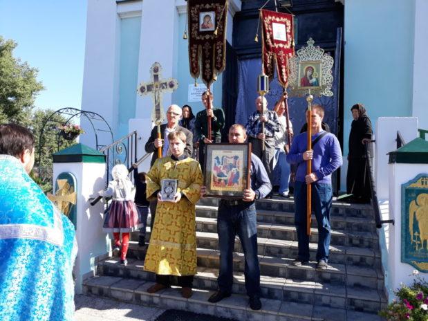 Престольный праздник в храме Рождества Божией Матери с. Верхняя Тишанка